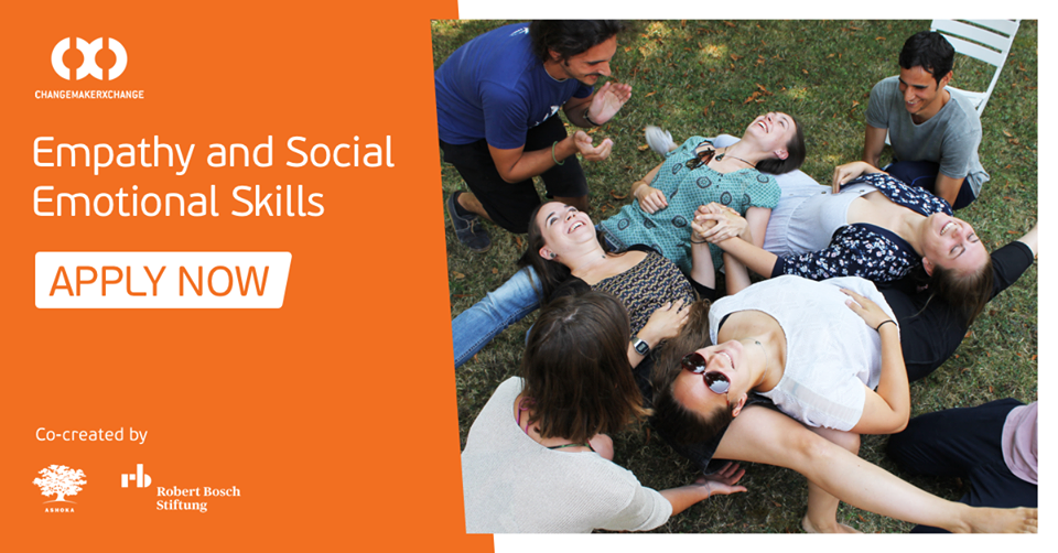 Ashoka/Robert Bosch Stiftung ChangemakerXchange Program 2019 on Empathy and Social-Emotional skills (Fully-funded)