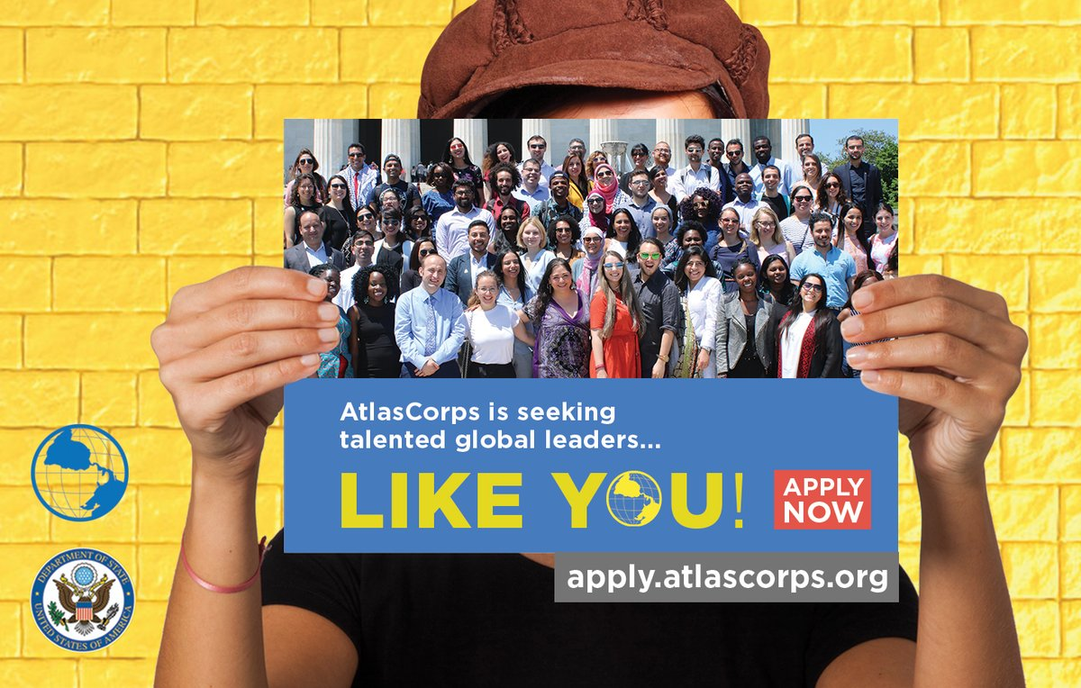 Atlas Corps Fellowship 2019 for Social Change Leaders (Fully funded to the United States)