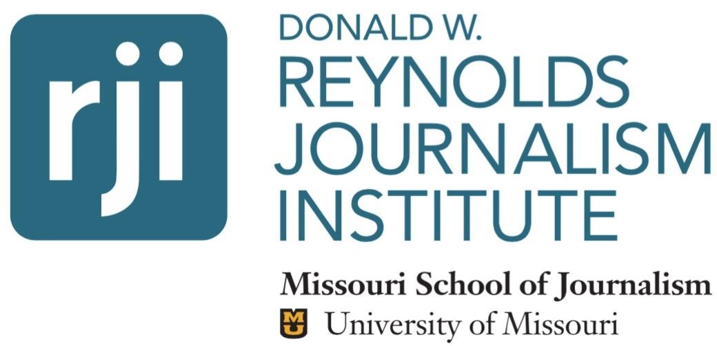 Donald W. Reynolds Journalism Institute Fellowship Program 2019