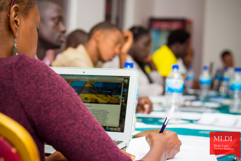 MLDI East Africa Digital Rights and Online Freedom of Expression Litigation Surgery Training 2019