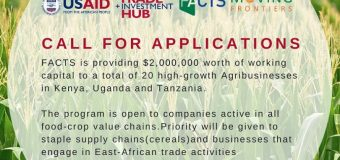 FACTS Moving Frontiers Programme 2019 for Agribusinesses (Up to $2,000,000)