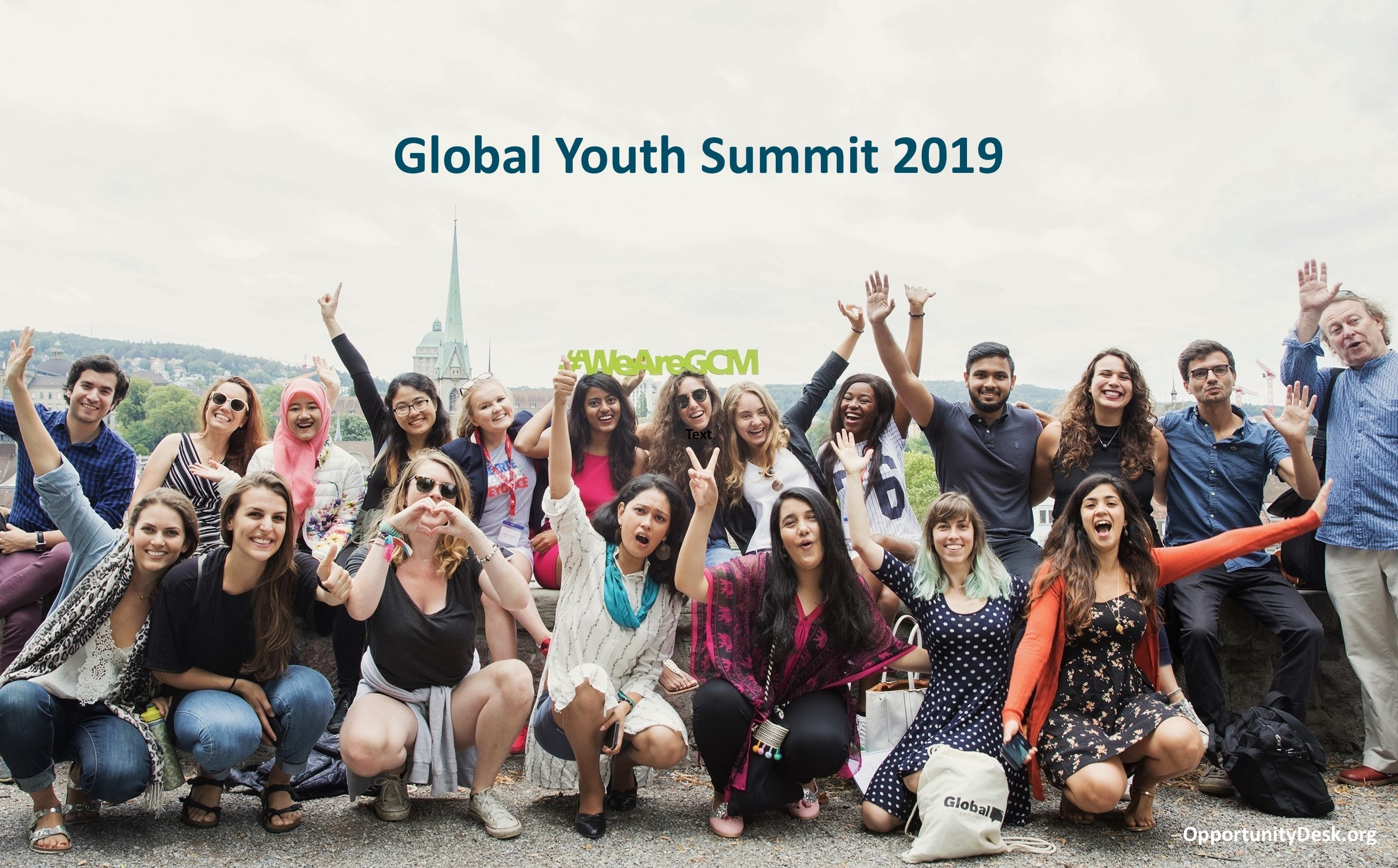 Apply: Global Changemakers' Global Youth Summit 2019 in Switzerland (fully-funded)