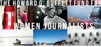 IWMF Howard G. Buffet Fund for Women Journalists 2019 (Round 1)