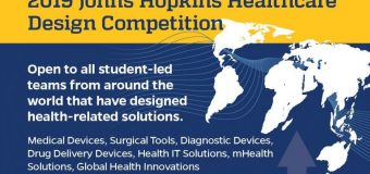 Johns Hopkins Healthcare Design Competition 2019