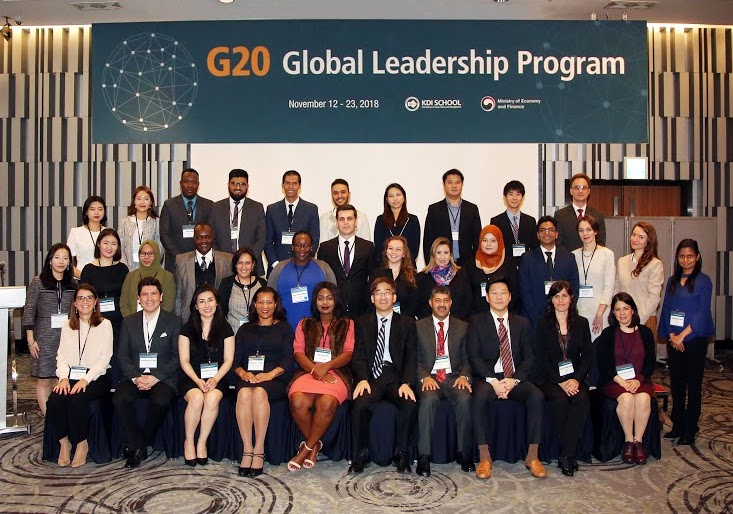 KDI School's G20 Global Leadership Program 2019 (Fully-funded to Korea)