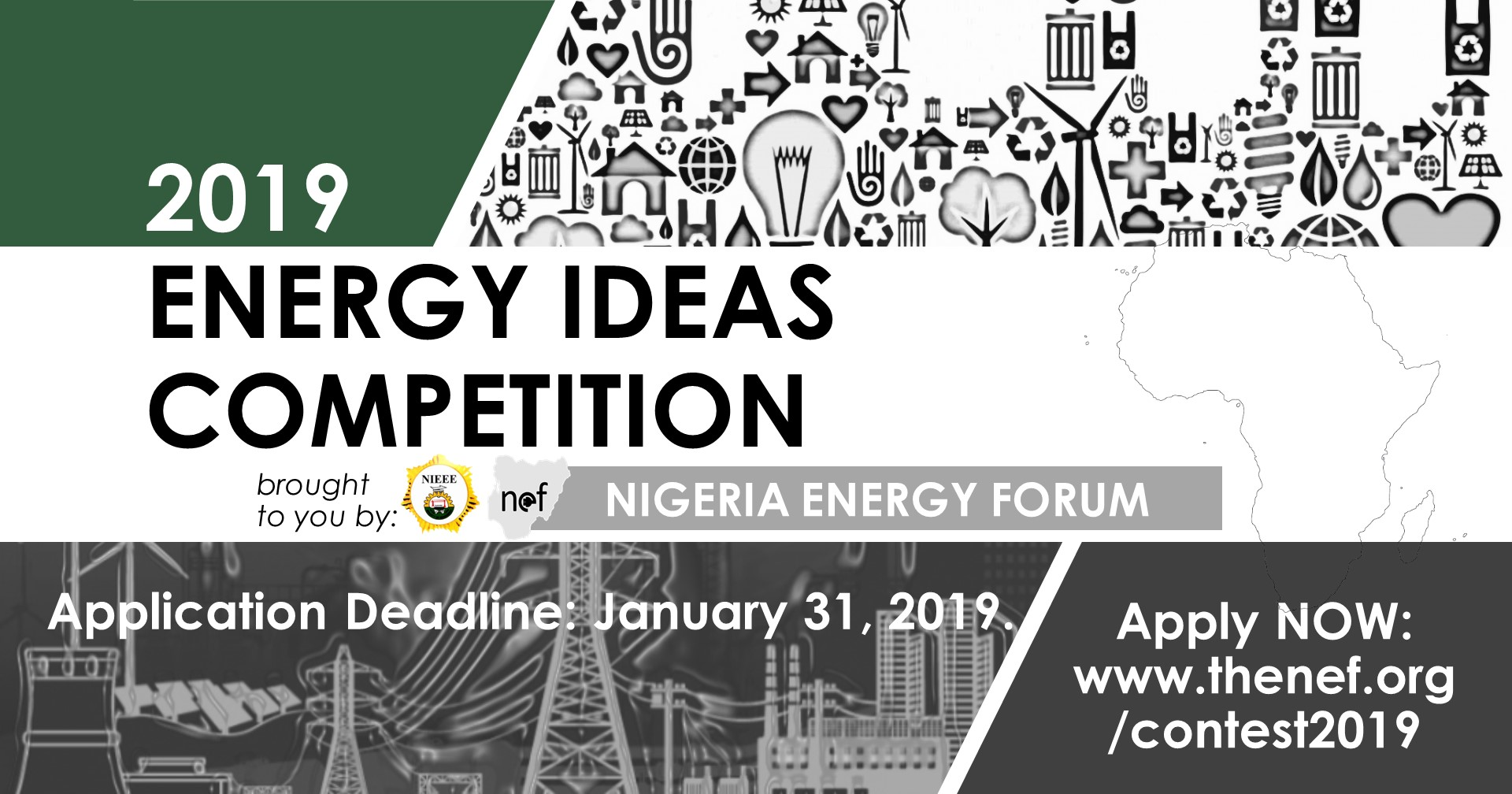 NEF Africa Energy Innovation Challenge 2019 (USD $5,000 prize)