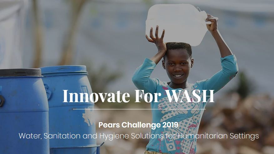 Pears Challenge 2019: WASH Technologies in Humanitarian Settings
