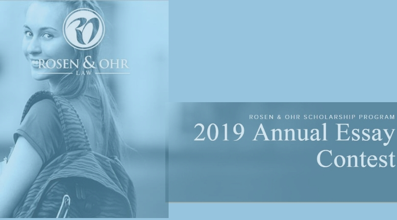 Rosen & Ohr Scholarship Program 2019 for Students affected by Accident