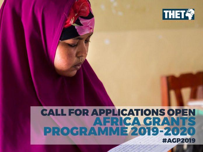 THET/Johnson & Johnson Africa Grants Programme (AGP) 2019/2020