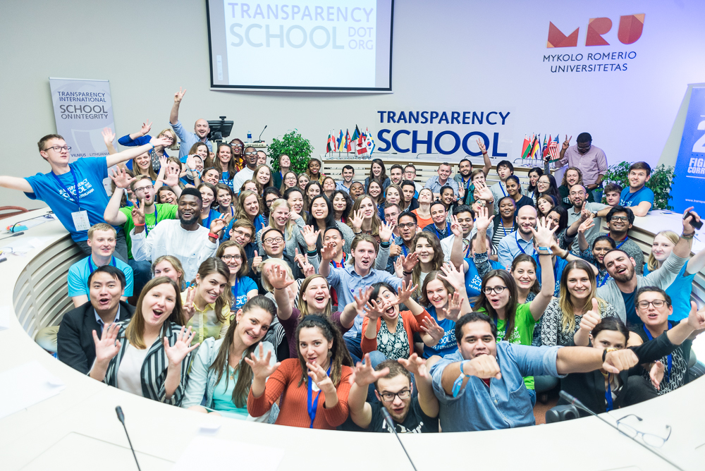 Transparency International School on Integrity 2019 (Scholarship available)