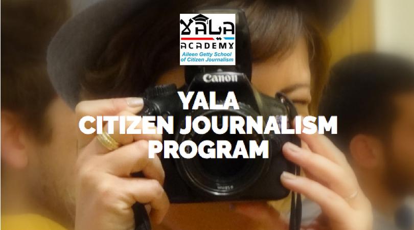 YaLa Academy's Aileen Getty School of Citizen Journalism 2019