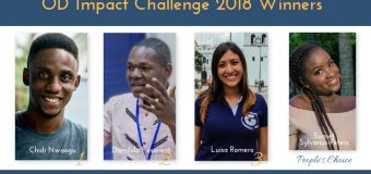 Announcing the OD Impact Challenge 2018 Winners