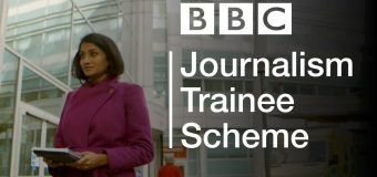 British Broadcasting Corporation (BBC) Journalism Trainee Scheme 2019