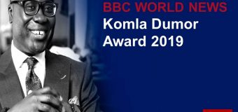 BBC World News Komla Dumor Award 2019 (Win a fully-funded training with the BBC in London)
