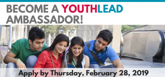 YouthLead Ambassadors Program 2019 for Young Changemakers