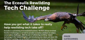 Ecosulis Rewilding Tech Challenge 2019 (£5,000 prize)