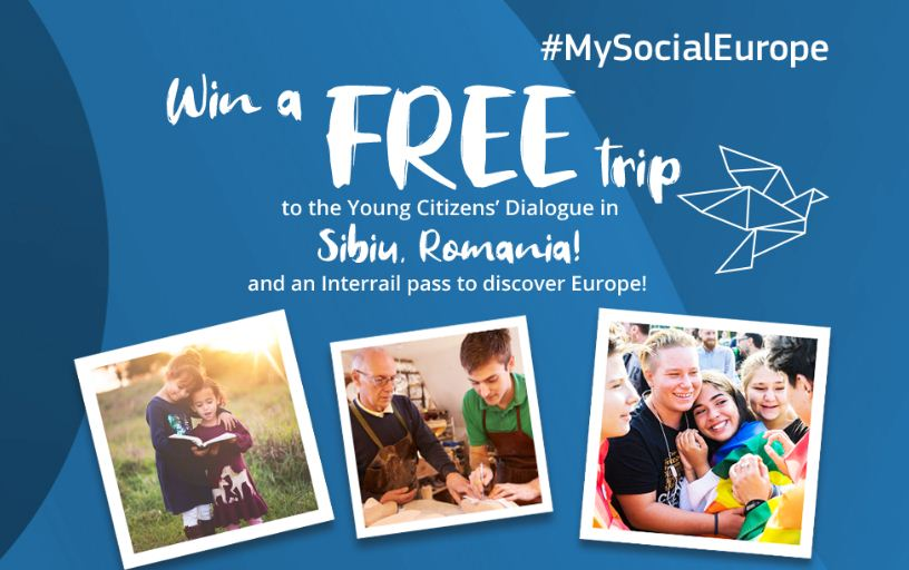 European Commission #MySocialEurope Competition 2019