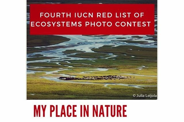 Fourth IUCN Red List of Ecosystems Photo Contest 2019