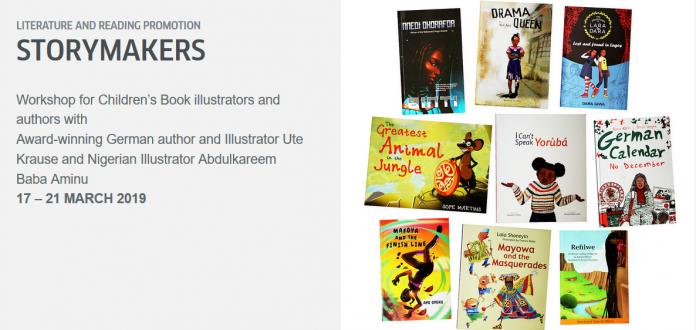 Goethe Institut Nigeria Workshop 2019 for Children's Book Illustrators and Authors