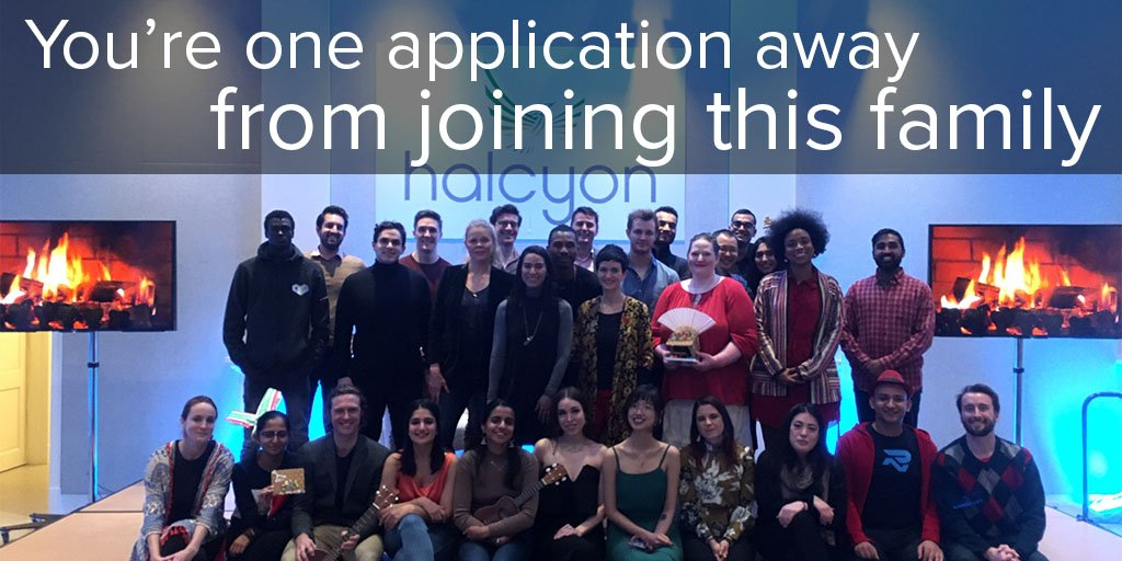 Halcyon Incubator Fellowship – Fall 2020 for Early-stage Social Entrepreneurs (stipend of $10,000)