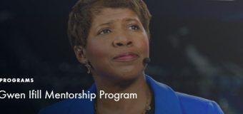 IWMF Gwen Ifill Mentorship Program for Women Journalists 2019