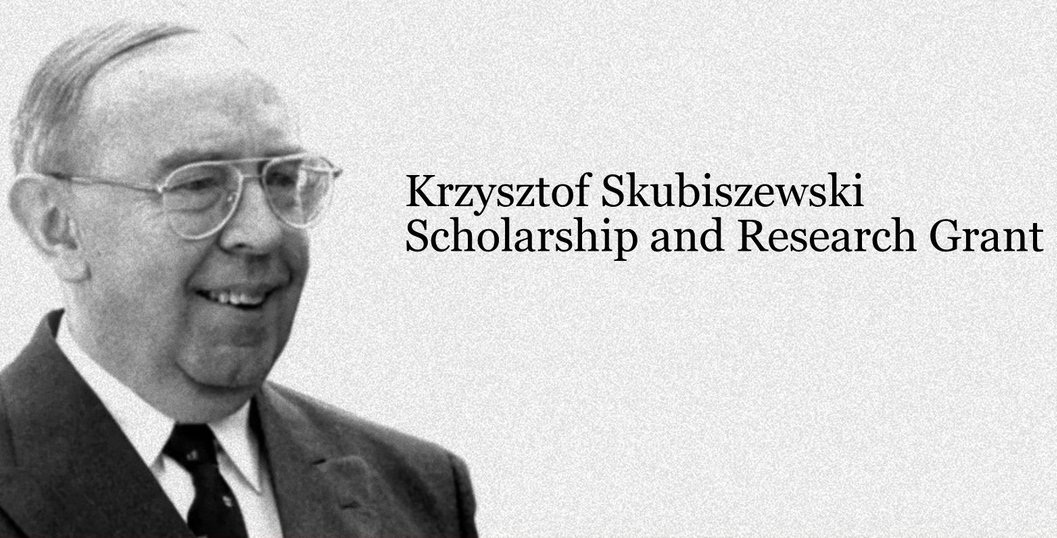 Krzysztof Skubiszewski Scholarship and Research Grant 2019