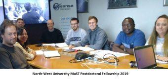 North-West University Multilingual Speech Technologies (MuST) Postdoctoral Fellowship 2019