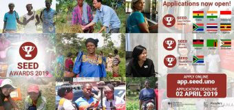 SEED Awards 2019 for Innovative Start-up Enterprises in Asia and Africa (Up to 66 prize packages)
