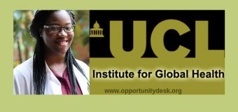 UCL Institute for Global Health (IGH) African Graduate Scholarships 2019/2020