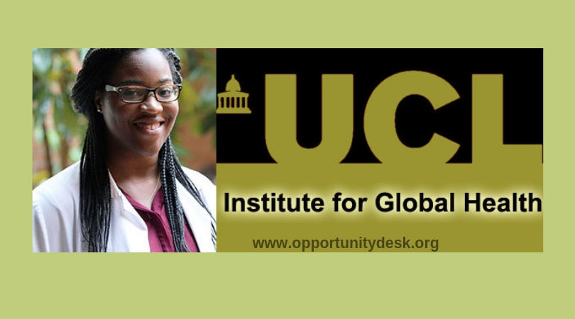 UCL Institute For Global Health IGH African Graduate Scholarships 2019 2020