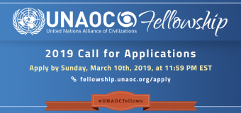 United Nations Alliance of Civilizations (UNAOC) Fellowship Programme 2019 (Fully-funded)