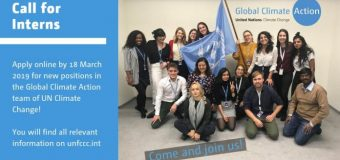 UNFCCC Global Climate Action Communications Internships 2019 in Bonn, Germany