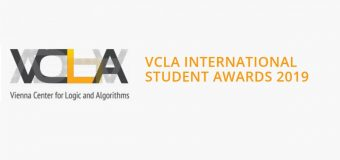 Vienna Center for Logic and Algorithms (VCLA) International Student Awards 2019