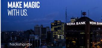 Wema Bank Nigeria Hackaholics Program 2019 for Developers and Web designers