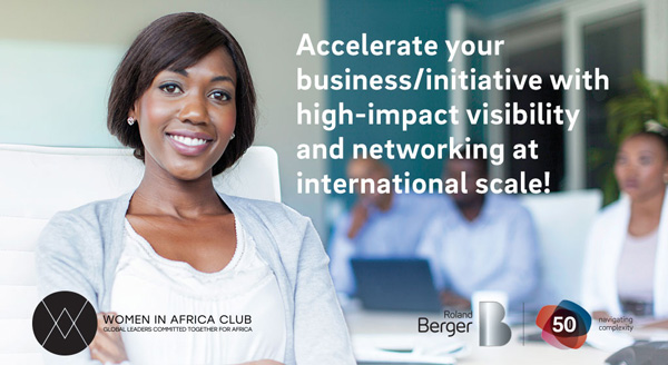 Apply to join the Women in Africa (WIA) Entrepreneurs' Club