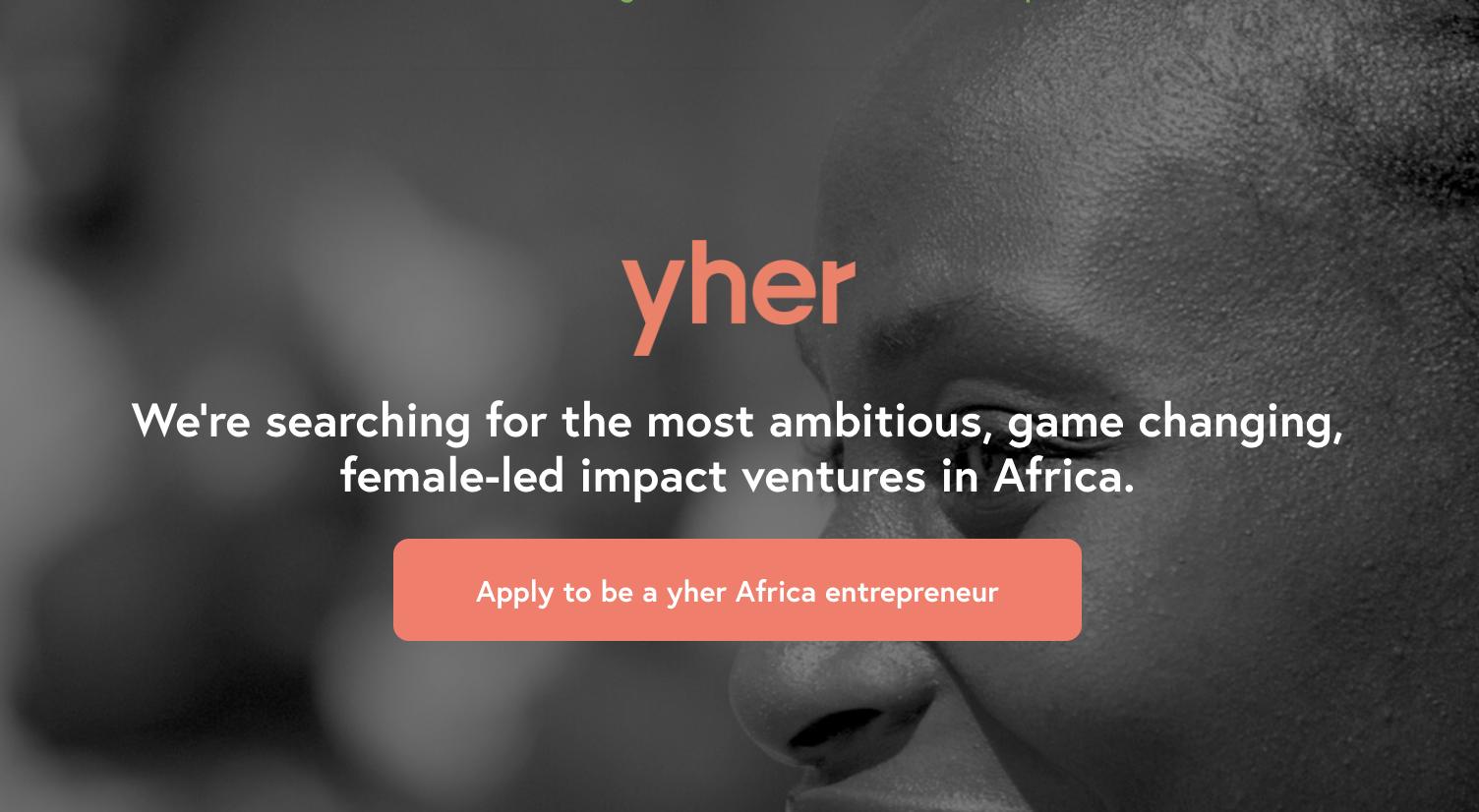 YGAP yher Africa Accelerator Program 2019 for Female Entrepreneurs