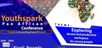 Call for Applications: Youthspark Pan-African Conference 2019: Kigali, Rwanda