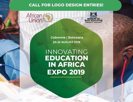 African Union Commission Logo Design for Innovating Education in Africa Expo 2019