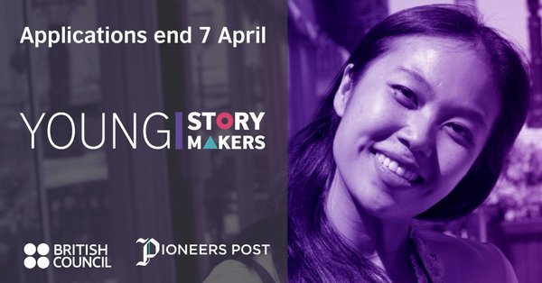 British Council/Pioneer Posts DICE Young Storymakers Programme 2019 for Aspiring Journalists