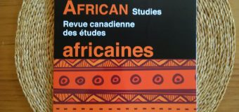 Canadian Journal of African Studies calls for Anglophone and Francophone Editors