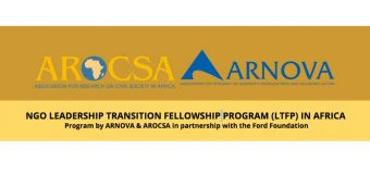 ARNOVA's NGO Leadership Transition Fellowship Program (LTFP) In Africa 2019 (Fully-funded to the United States)
