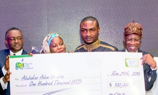 NLNG Nigeria Prize for Literature 2019 ($100,000 prize)