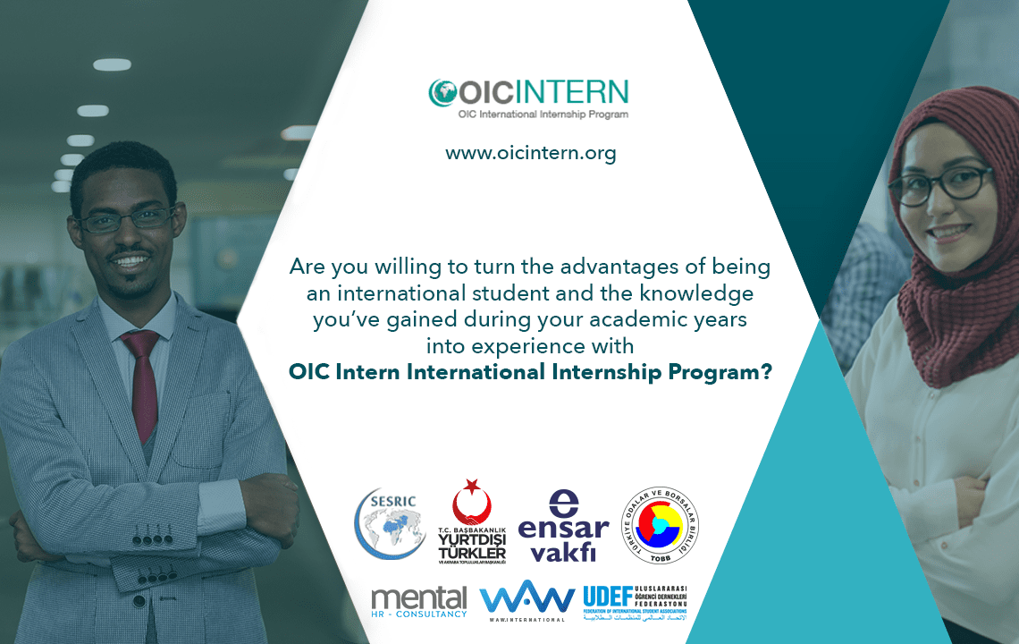 OIC International Internship Program 2019 for Students in Turkey