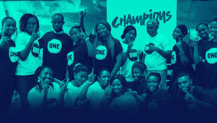 ONE Champions Program 2019 for Young Leaders in Nigeria