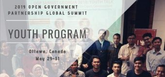 Open Government Partnership Global Summit Youth Program 2019 for Global Youth Leaders (Fully-funded to Ottawa, Canada)