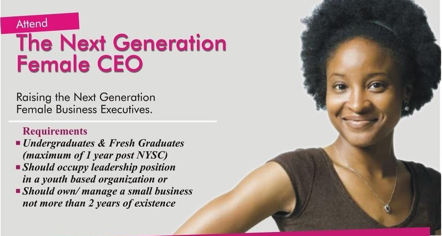 SESEWA's Next Generation Female CEO Program 2019 (Fully-funded to Lagos, Nigeria)