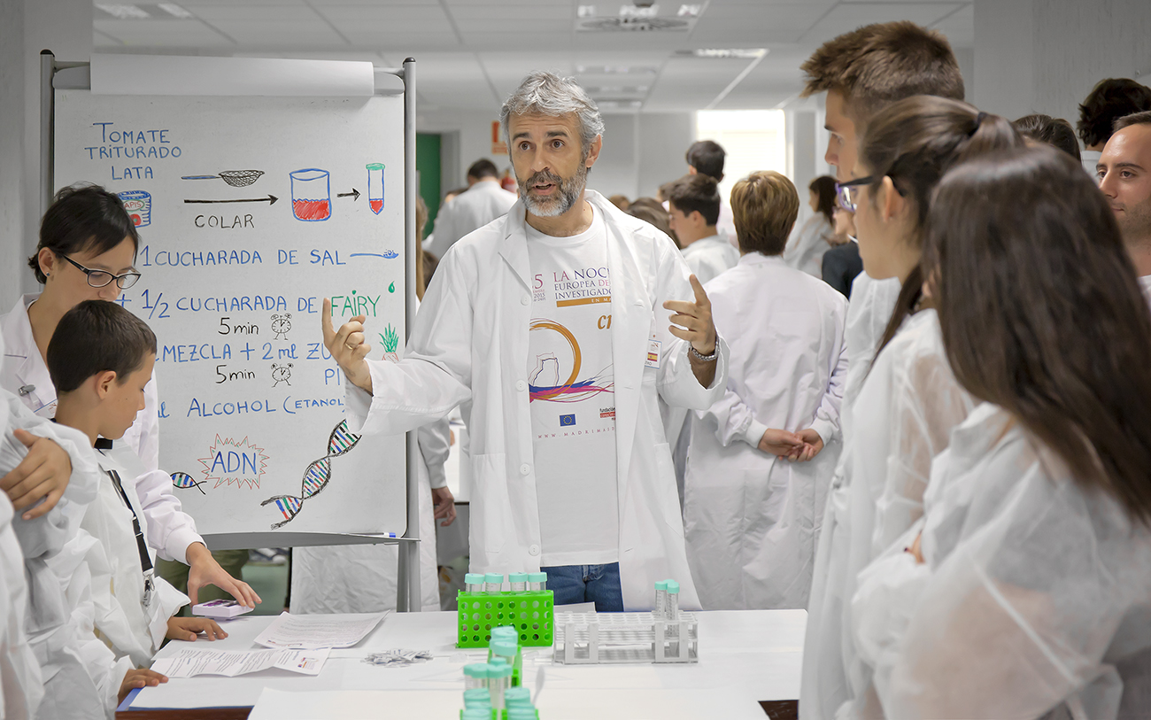 Spanish National Cancer Research Centre (CNIO) Laboratory Training Programme 2019
