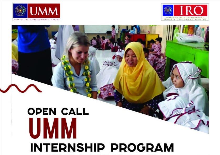 University of Muhammadiyah Malang (UMM) Internship Program 2019 for Non-Indonesians
