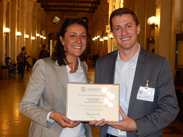 World Trade Organization (WTO) Essay Award for Young Economists 2019 (CHF 5,000 prize)