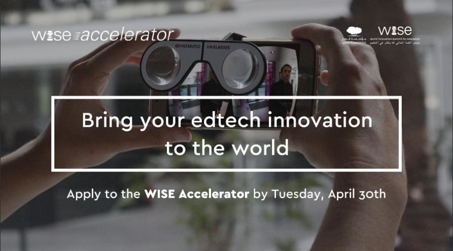World Innovation Summit for Education (WISE) Accelerator Programme 2019-2020 (Fully-funded to Qatar)